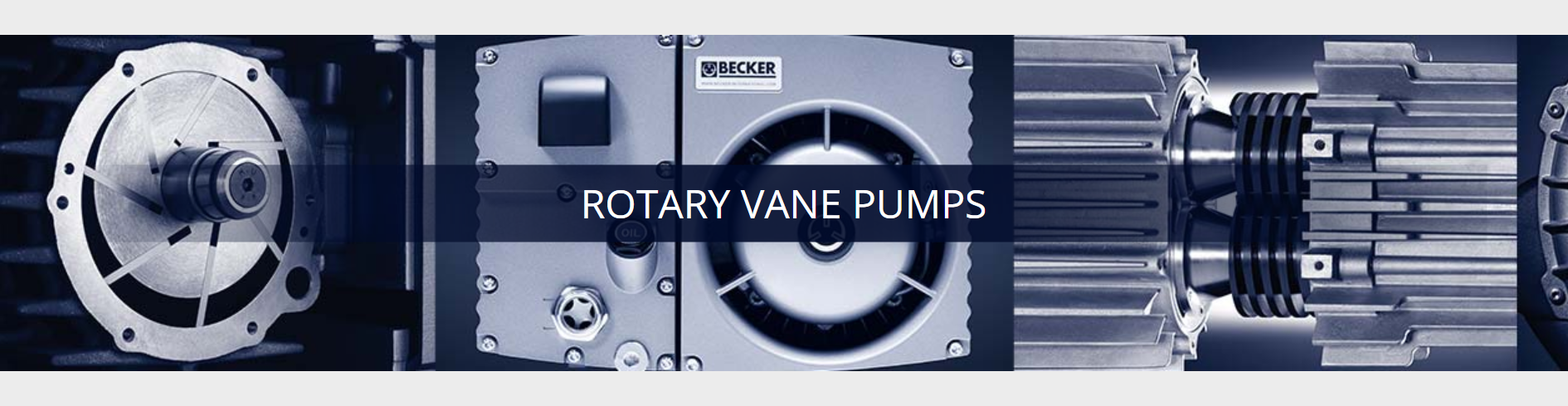 Becker Rotary Vane Pumps