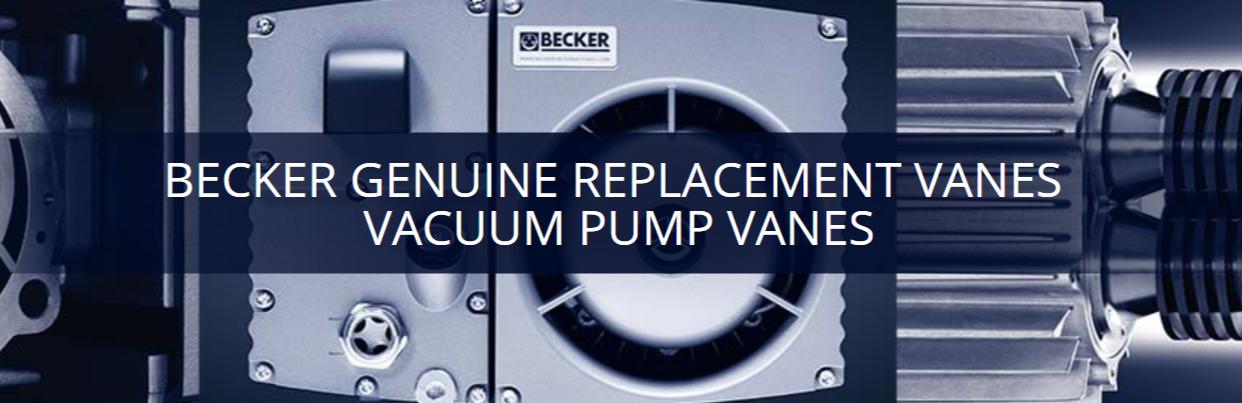 Becker Genuine Replacement Vanes Vacuum Pump Vanes