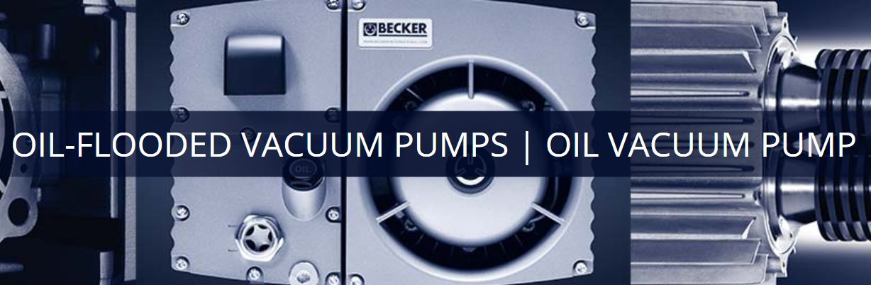 Oil Vacuum Pump | Oil-Flooded Vacuum Pump