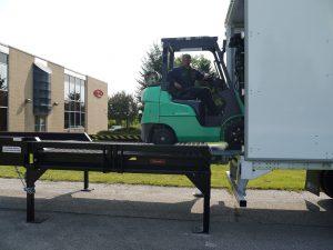 Copperloy portable loading docks