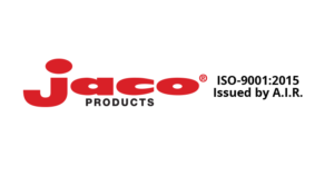 plastic fabrication company Jaco Products logo