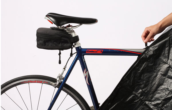 Bike Cover with Zipper Closure