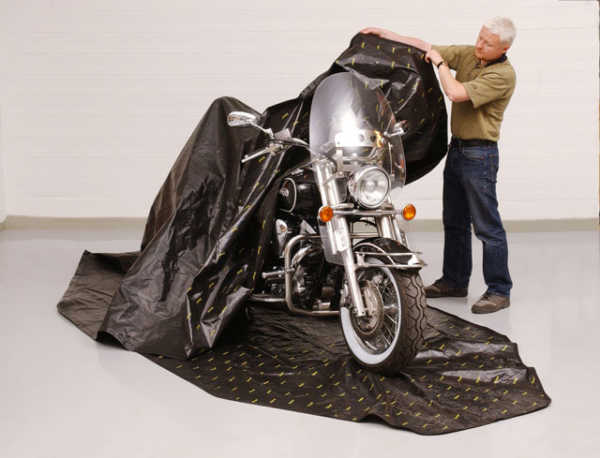Zip Up Motorcycle Cover
