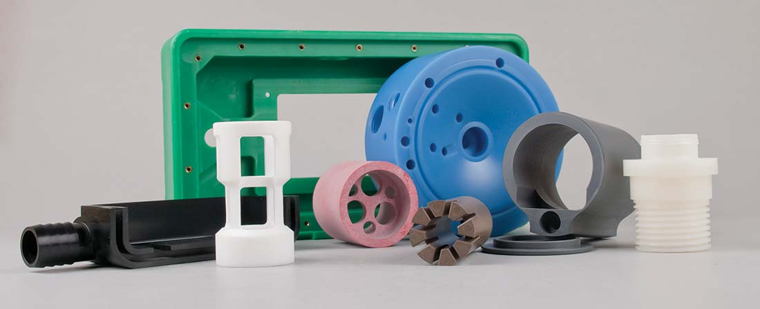 plastic machining part samples