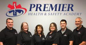 EMT training instructor group