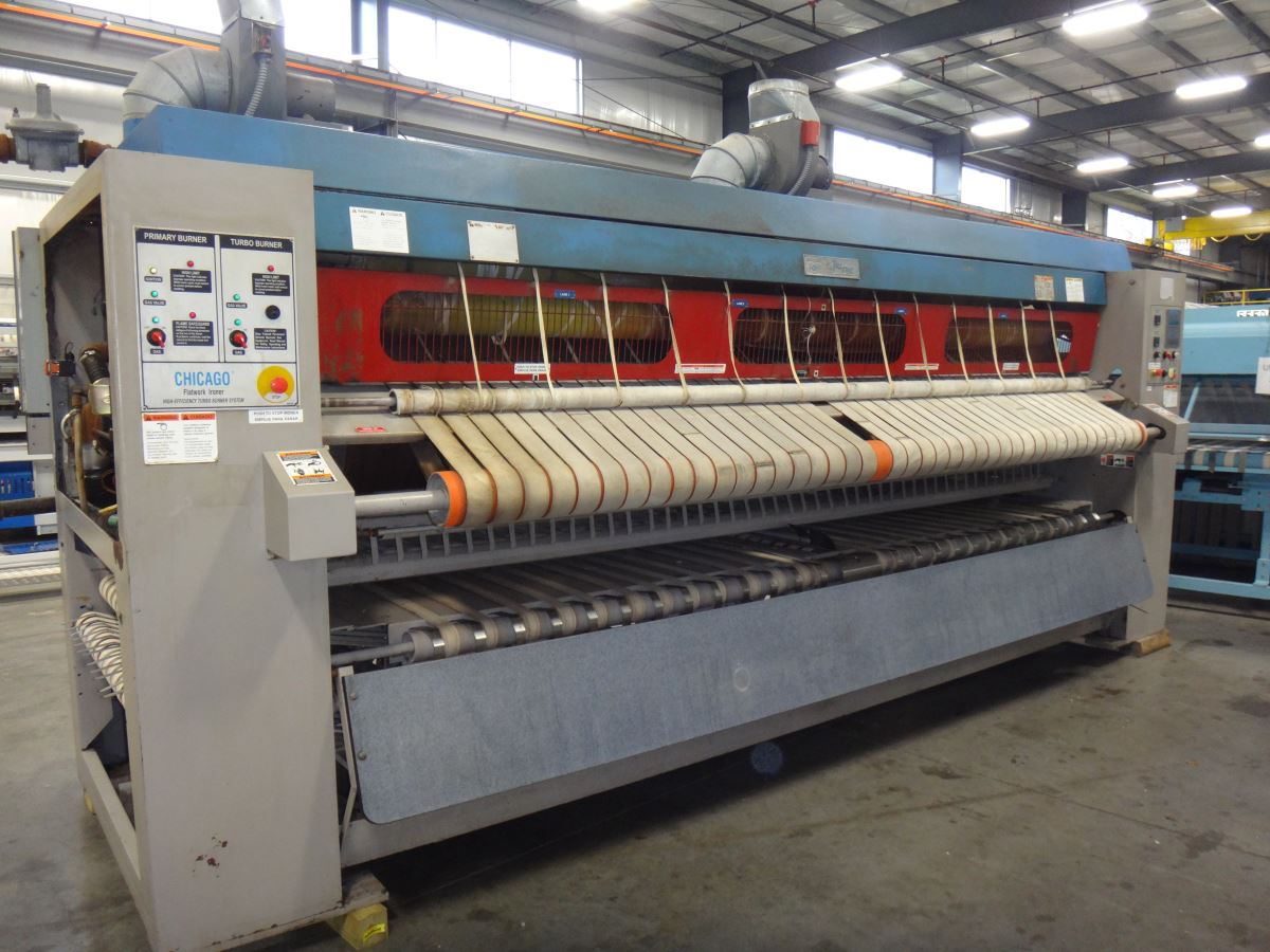 Chicago flatwork ironer | used commercial flatwork ironer for sale