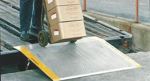 Copperloy Portable Ramp Aluminum Dock Plate