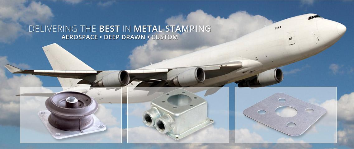 Aerospace Metal Stamping