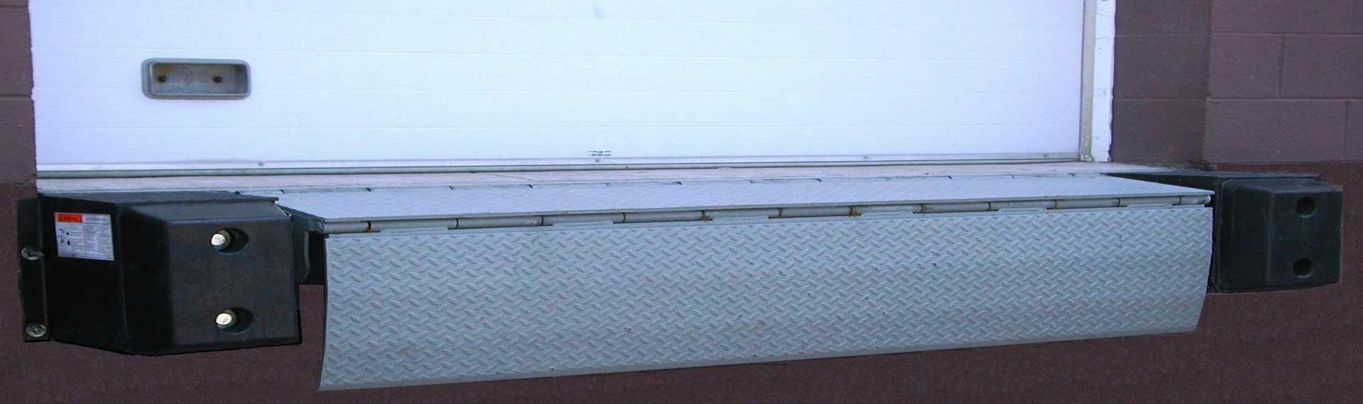 edge of dock