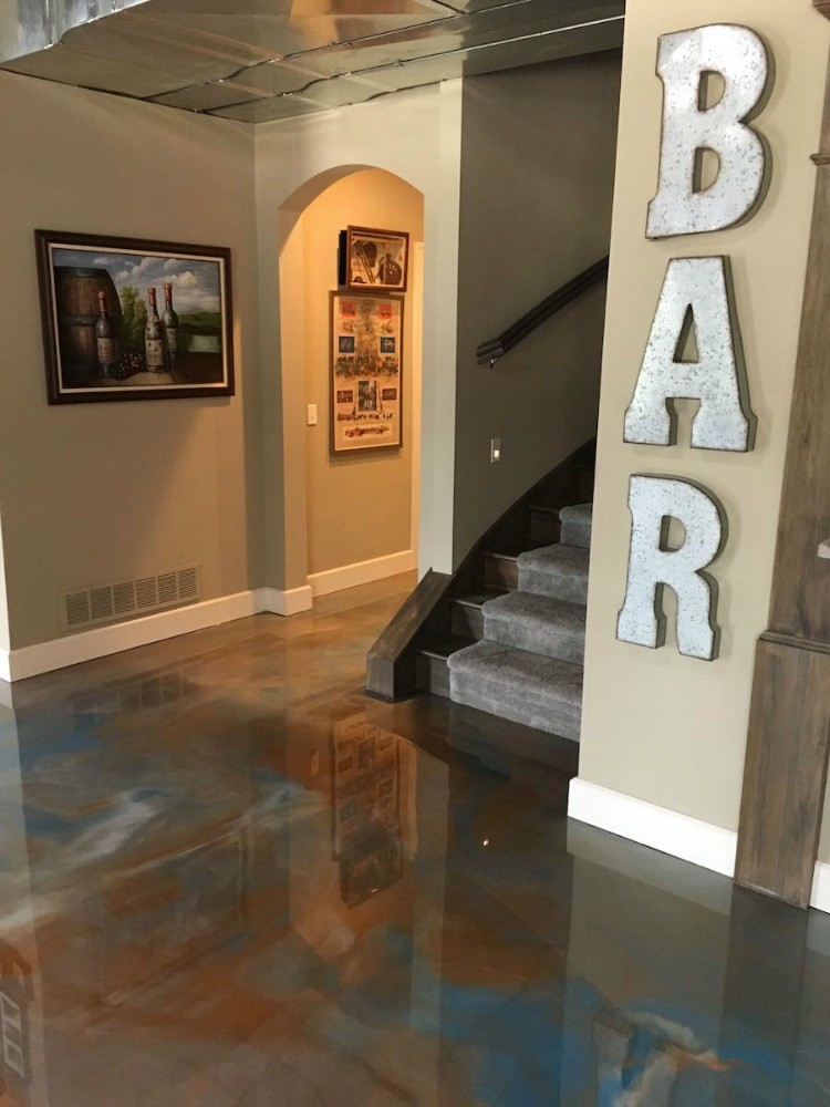 Basement Epoxy Floor Coating Cost