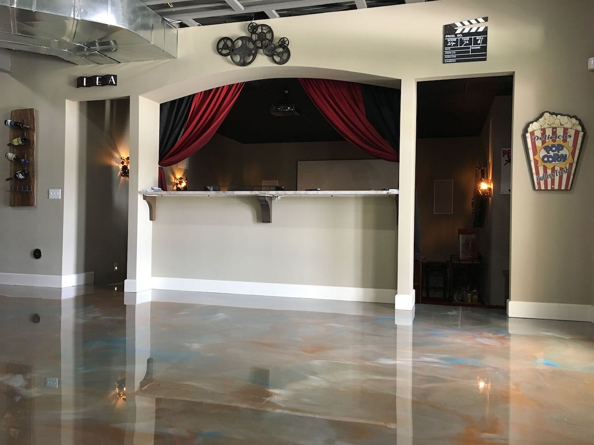 Finished Basement | Basement Flooring Contractors