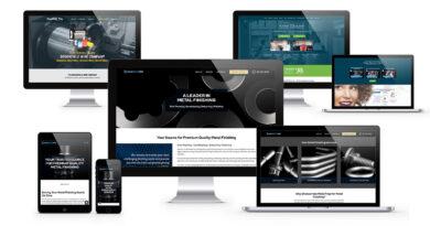 web design company work samples