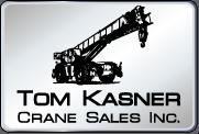 used crane rentals Tom Kasner Crane Sales, Inc. logo