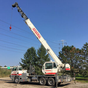 crane rental in Ohio truck crane