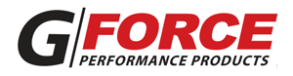 G Force adapter G Force Performance Products logo