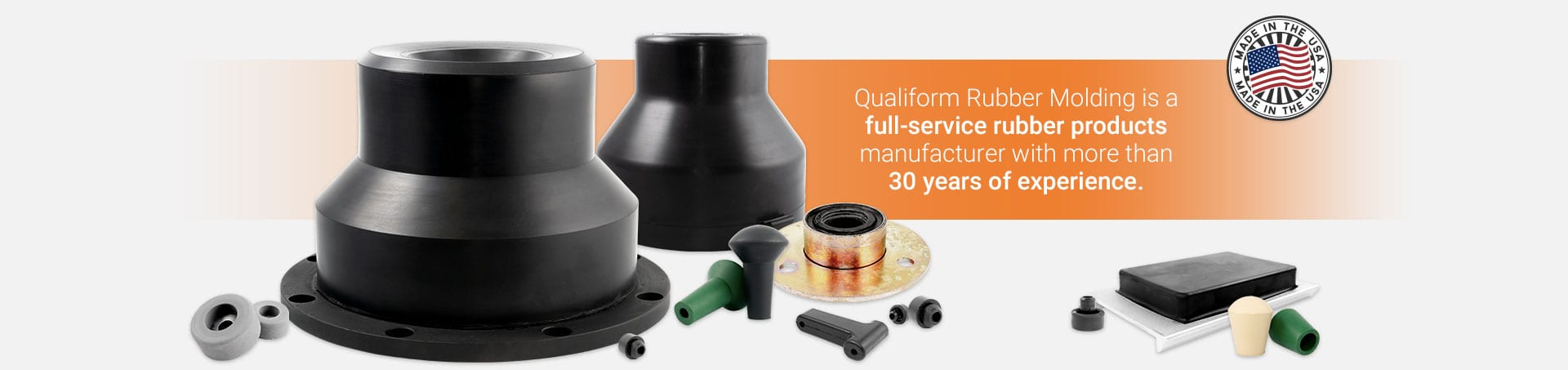Qualiform Rubber Molding | Full-Service Rubber Products Provider