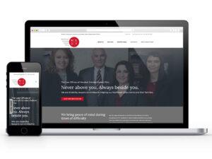 web design Akron sample site
